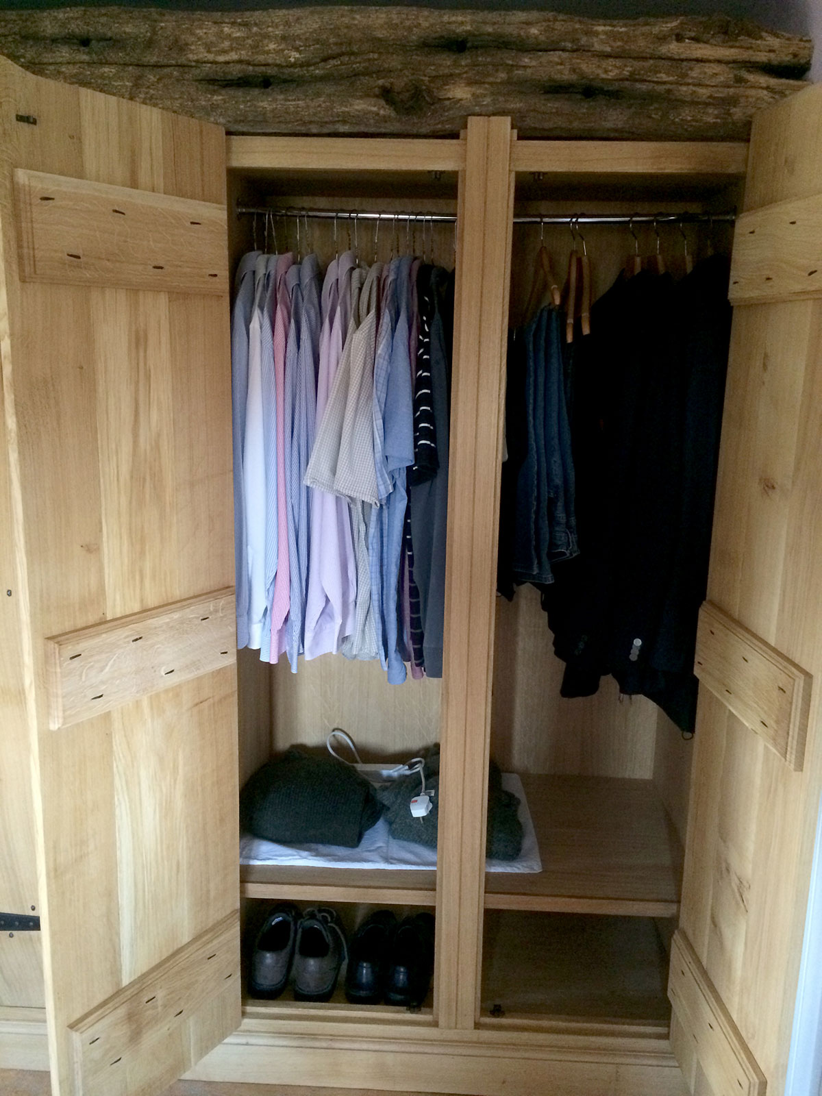 Custom Wooden Wardrobes ~ Solid wood fitted wardrobes the norfolk carpenter
