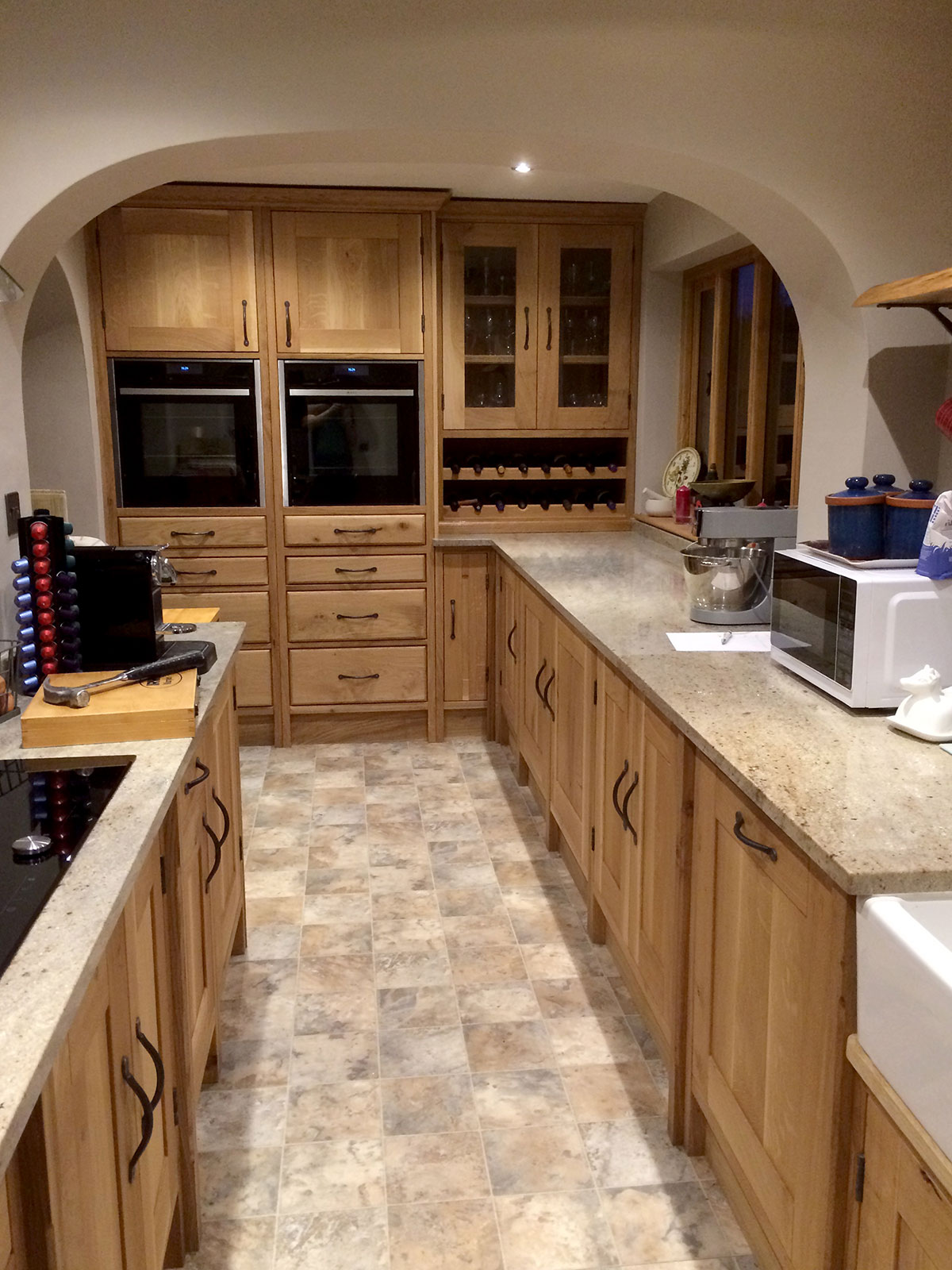 Handmade Solid Oak Kitchen Norwich The Norfolk Carpenter